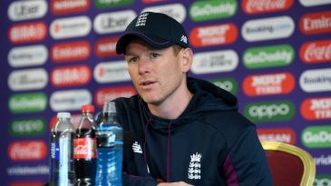 No replacement players have been considered so far, Eoin Morgan said