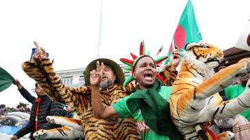 Bangladesh fans had a great time in Taunton
