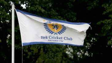 The colours of York Cricket Club