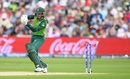 Quinton de Kock is bowled by Trent Boult, South Africa v New Zealand, World Cup 2019, Birmingham, June 19, 2019