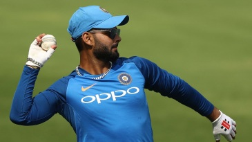 Rishabh Pant has trained with the Indian squad over the past few days
