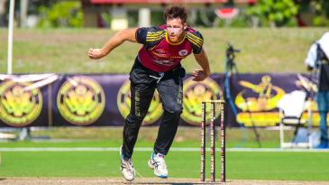Rusty Theron was a key part of the Somerset (NJ) Cavaliers run to the 2018 US Open T20 Final