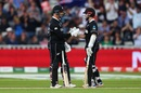 Colin de Grandhomme and Kane Williamson put on a 92 run partnership, New Zealand v South Africa, Birmingham, June 19, 2019