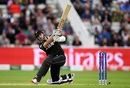 Kane Williamson ties the scores with a six, New Zealand v South Africa, Birmingham, June 19, 2019