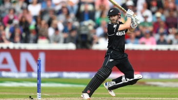 Kane Williamson struggled for placement at times, but it came good in the end