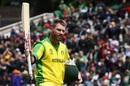 David Warner walks off to applause after getting dismissed for 166, Australia v Bangladesh, World Cup 2019, Trent Bridge, June 20, 2019