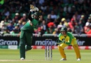 Shakib Al Hasan lifts one down the ground, Australia v Bangladesh, World Cup 2019, Trent Bridge, June 20, 2019