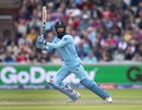 Moeen Ali steers one through the off side, England v Afghanistan, World Cup 2019, Old Trafford, June 18, 2019