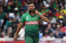 Mashrafe Mortaza went for 56 in eight overs, Australia v Bangladesh, World Cup 2019, Trent Bridge, June 21, 2019