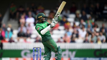 Shakib Al Hasan pulling and hooking West Indies' pacers made for riveting viewing