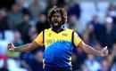 Lasith Malinga celebrates the wicket, England v Sri Lanka, World Cup 2019, Headingley, June 21, 2019