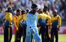 Moeen Ali leaves the field after holing out, England v Sri Lanka, World Cup 2019, Headingley, June 21, 2019