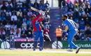 Mohammad Nabi goes after Mohammed Shami, Afghanistan v India, World Cup 2019, Southampton, June 22, 2019