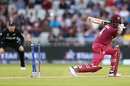 Shai Hope is bowled by Trent Boult, New Zealand v West Indies, World Cup 2019, Manchester, June 22, 2019