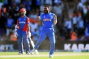 Mohammed Shami is pumped up after his hat-trick, Afghanistan v India, World Cup 2019, Southampton, June 22, 2019