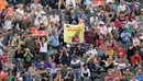 The crowd celebrates a Chris Gayle six, New Zealand v West Indies, World Cup 2019, Manchester, June 22, 2019