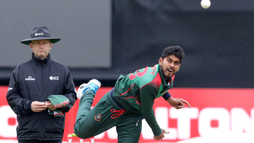 File photo - Mehidy Hasan Miraz's injury is the latest concern for a Bangladesh side facing a string of fitness issues in the World Cup