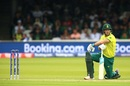 David Miller takes a knee as South Africa's chase crumbles, Pakistan v South Africa, World Cup 2019, Lords, June 7, 2019
