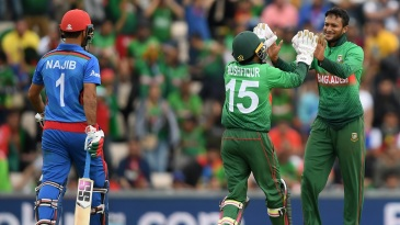 Shakib Al Hasan entered the record books on his way to a match-winning performance