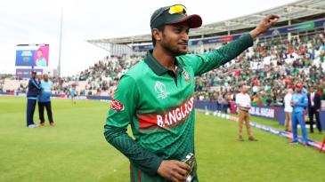 Shakib Al Hasan led Bangladesh to victory