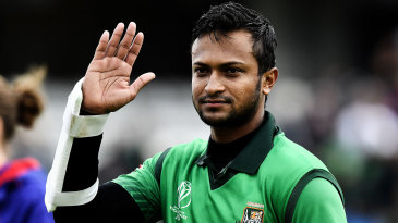 Can't keep him out of the game: Shakib is Bangladesh's premier batsman and bowler in ODIs