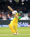 David Warner goes aerial, England v Australia, World Cup 2019, Lord's, June 25, 2019
