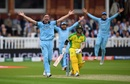 It wasn't easy going for the Australian openers at the start, England v Australia, World Cup 2019, Lord's, June 25, 2019
