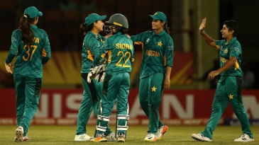 Sana Mir and Nida Dar are the only players in the top category now