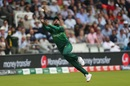 Mohammad Amir makes a valiant attempt to leap for a catch, Pakistan v South Africa, World Cup 2019, Lords, June 7, 2019