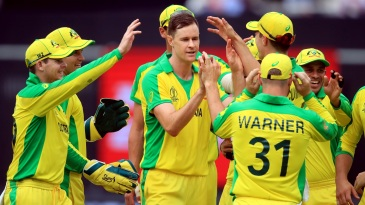 Jason Behrendorff's five wickets included both England openers