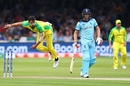 Mitchell Starc bowls, England v Australia, World Cup 2019, Lord's, June 25, 2019