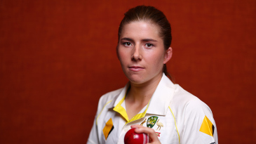 Georgia Wareham has been getting used to bowling with the red ball