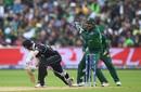 Kane WIlliamson is caught behind by Sarfaraz Ahmed off Shadab Khan, New Zealand v Pakistan, World Cup 2019, Birmingham, June 26, 2019