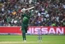 Haris Sohail goes for a big shot, New Zealand v Pakistan, World Cup 2019, Birmingham, June 26, 2019