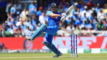 MS Dhoni guided India to 268 and remained unbeaten on 58