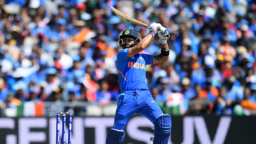 It's the sounds, as much as the sights, which set Virat Kohli's batting apart