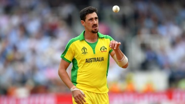 Mitchell Starc has 19 wickets from seven games so far
