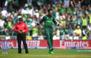 Imad Wasim is thrilled after getting rid of Rahmat Shah, Afghanistan v Pakistan, World Cup 2019, Headingley, June 29, 2019