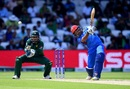 Asghar Afghan hits down the ground, Afghanistan v Bangladesh, World Cup 2019, Southampton, June 24, 2019