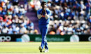Jasprit Bumrah looks on, Afghanistan v India, World Cup 2019, Southampton, June 22, 2019