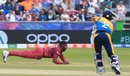 Fabian Allen took a brilliant catch off his own bowling, Sri Lanka v West Indies, World Cup 2019, Chester-le-Street, July 1, 2019