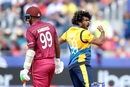 Lasith Malinga dismissed Sunil Ambris cheaply, Sri Lanka v West Indies, World Cup 2019, Chester-le-Street, July 1, 2019
