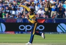 Jeffrey Vandersay was expensive but got the crucial wicket of Jason Holder, Sri Lanka v West Indies, World Cup 2019, Chester-le-Street, July 1, 2019