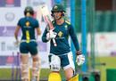 Meg Lanning at Australia nets, Grace Road, July 1, 2019