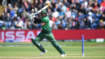 Before the match against India, Shakib was third on the list of run-getters at this World Cup