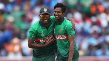 A shy smile to acknowledge a five-wicket haul - that's Mustafizur Rahman
