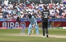 Tim Southee bowls Adil Rashid, England v New Zealand, World Cup 2019, Chester-le-Street, July 3, 2019