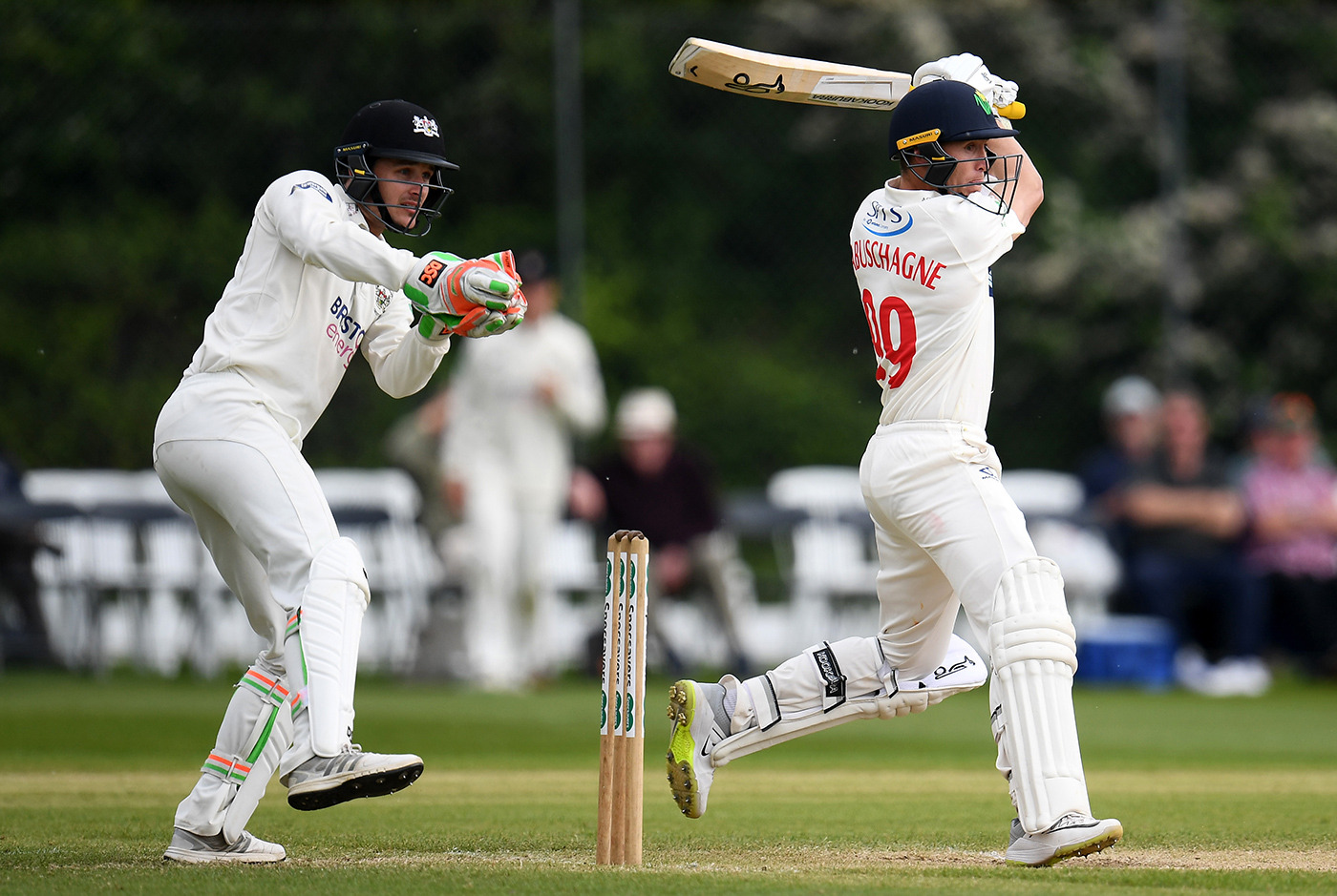 In ten games for Glamorgan in the 2019 County Championship, Labuschagne made 1114 runs at 65.52 with ten scores of 50-plus