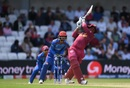Shimron Hetmyer goes on the charge as he takes the attack to Afghanistan, Afghanistan v West Indies, World Cup 2019, Headingley, July 4, 2019