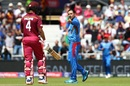 Mohammad Nabi tells Shai Hope exactly what's what, Afghanistan v West Indies. World Cup 2019, Headingley, July 4, 2019